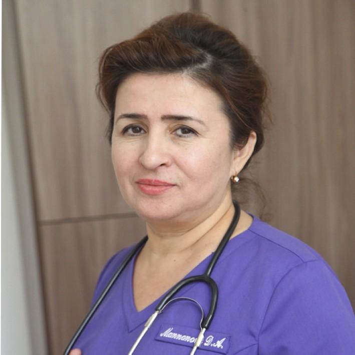 Маннонова Динара Акбаровна